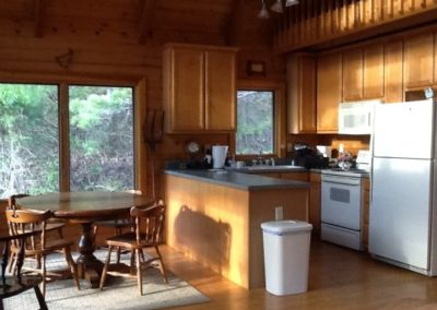falling water farm vacation rental kitchen