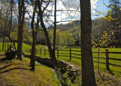 falling water farm vacation rental view of pasture